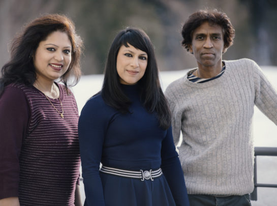 Shani Diluka, Sahana Banerjee, Prabhu Edouard 1